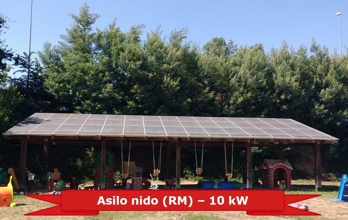Asilo nido in provincia di Roma da 10 kW